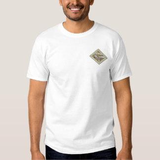 高級家具のロゴ 刺繍入りTシャツ