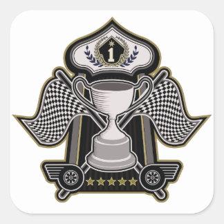 高速レースカーのチャンピオンのMotorsport スクエアシール