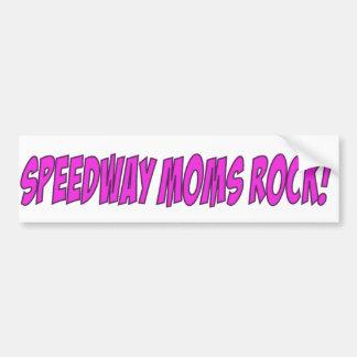 高速自動車道路のお母さんの石 バンパーステッカー