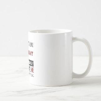 高速自動車道路のカッコいいを好まなければ コーヒーマグカップ