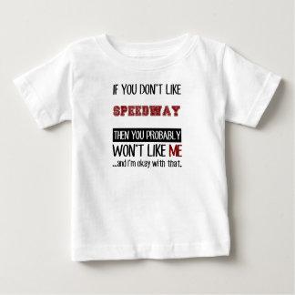 高速自動車道路のカッコいいを好まなければ ベビーTシャツ