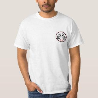 高速自動車道路のダイジェスト-両面ワイシャツ Tシャツ