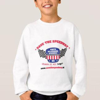 高速自動車道路の子供のスエットシャツを救って下さい スウェットシャツ