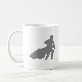 高速自動車道路の星(灰色) コーヒーマグカップ