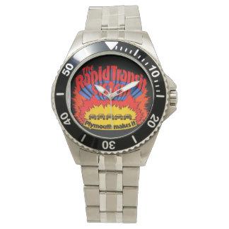 高速輸送システムの腕時計 腕時計