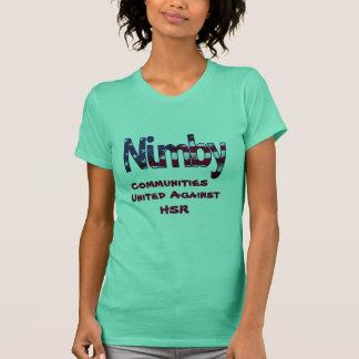 高速鉄道に対する二ンビーのコミュニティ Tシャツ