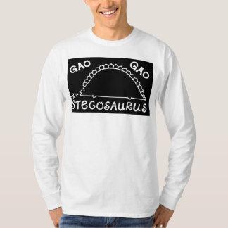 高高のステゴサウルス Tシャツ