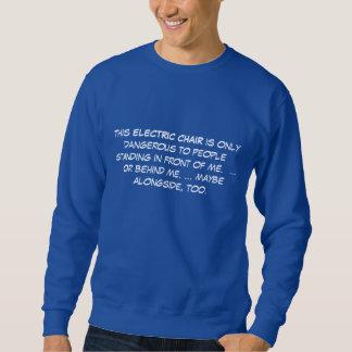 高齢者-電動車椅子 スウェットシャツ