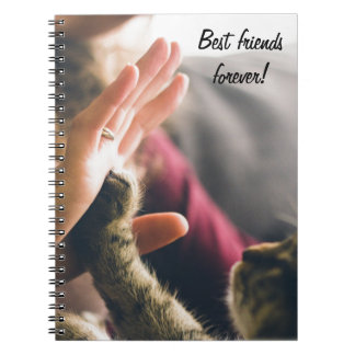 高5猫の足 ノートブック