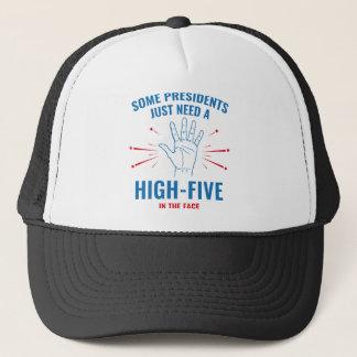 高5 Face大統領 キャップ