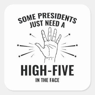 高5 Face大統領 スクエアシール