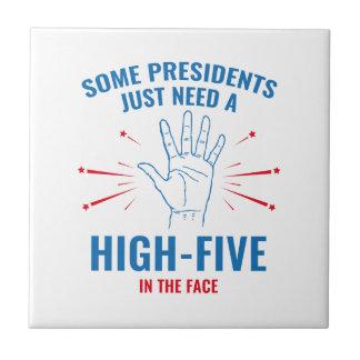 高5 Face大統領 タイル