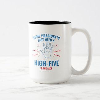 高5 Face大統領 ツートーンマグカップ