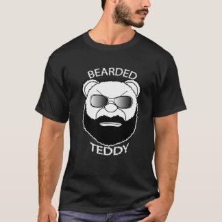 髭があるテディ Tシャツ