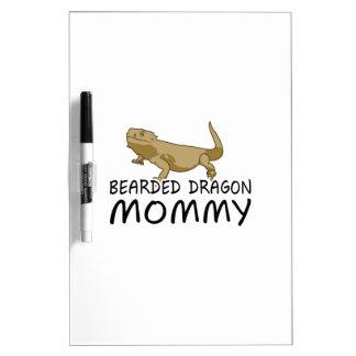 髭があるドラゴンのお母さん ホワイトボード