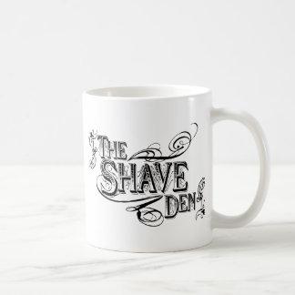 髭そりの洞穴 コーヒーマグカップ