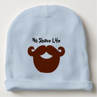 髭そりの生命カスタムな赤ん坊の帽子無し ベビービーニー