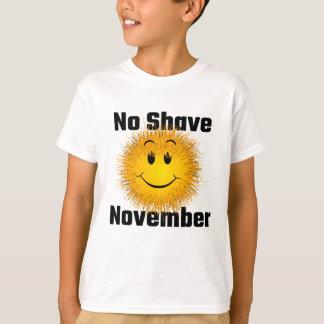 髭そり無し11月 Tシャツ