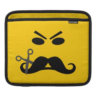 髭のにこやかでカスタムなラップトップ/iPadの袖 iPadスリーブ