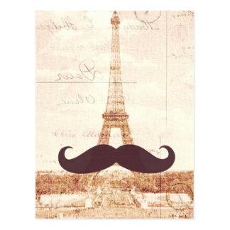 髭のエッフェル塔 ポストカード