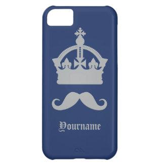 髭のカスタムのケースの王 iPhone5Cケース