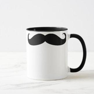 髭のコーヒー飲料のマグ マグカップ