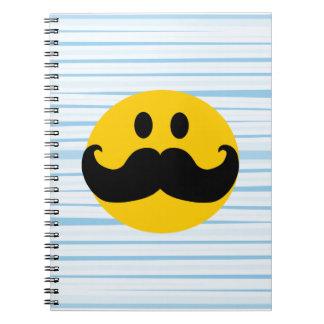 髭のスマイリー ノートブック
