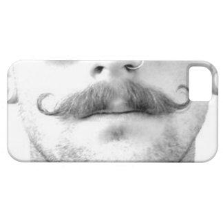髭のノーズリングの人の電話箱 iPhone SE/5/5s ケース