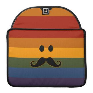 髭のプライドのカスタムなMacBookの袖 MacBook Proスリーブ