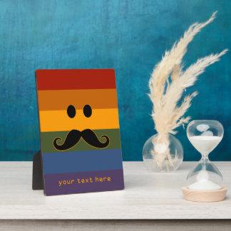 髭のプライドのカスタムのプラク フォトプラーク