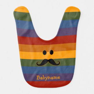 髭のプライドのカスタムのベビー用ビブ ベビービブ