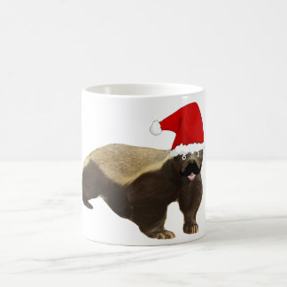 髭のラーテルサンタ コーヒーマグカップ