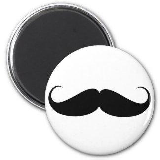 髭のヴィンテージの記号のおもしろいな口ひげ マグネット