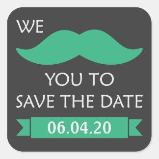 髭の保存日付 スクエアシール