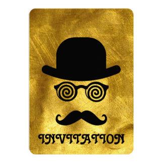 髭の招待状 カード