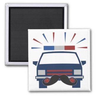 髭の警察の磁石 マグネット