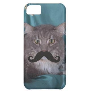 髭のQpcのテンプレート iPhone5Cケース