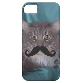 髭のQpcのテンプレート iPhone SE/5/5s ケース