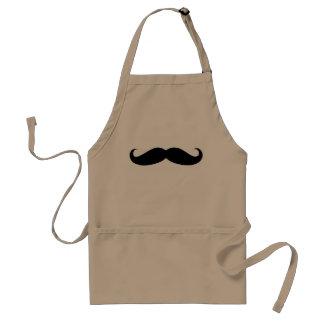 髭のstacheのエプロン スタンダードエプロン