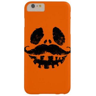 髭を搭載するハロウィンハロウィーンのカボチャのちょうちん BARELY THERE iPhone 6 PLUS ケース