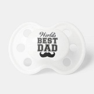 髭を搭載する世界で最も最高のなパパ おしゃぶり