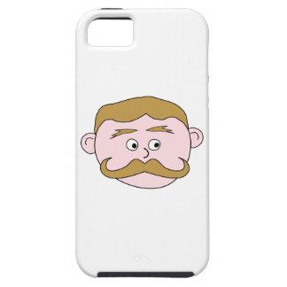 髭を搭載する紳士 iPhone SE/5/5s ケース