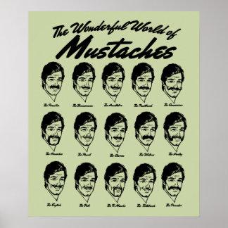髭ポスターのすばらしい世界 ポスター