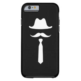 髭及びカーボーイ・ハットのピクトグラムのiPhone6ケース ケース