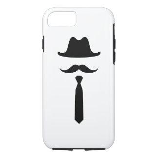 髭及びカーボーイ・ハットのピクトグラムのiPhone 7の場合 iPhone 8/7ケース