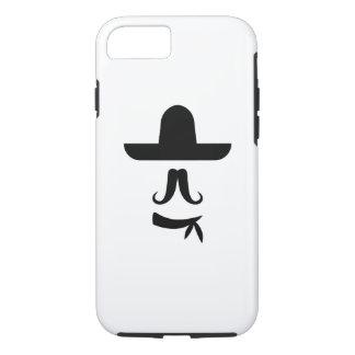髭及びソンブレロのピクトグラムのiPhone 7の場合 iPhone 8/7ケース