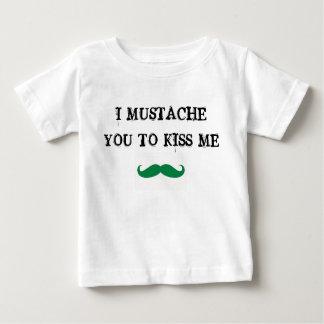 髭私に接吻するst.の水田のベビーのワイシャツのアイルランド語 ベビーTシャツ