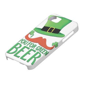 髭緑ビールショウガの髭のクローバーのための iPhone SE/5/5s ケース