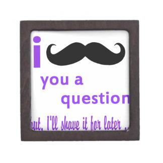 髭質問Qpcのテンプレート ギフトボックス
