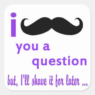 髭質問Qpcのテンプレート スクエアシール